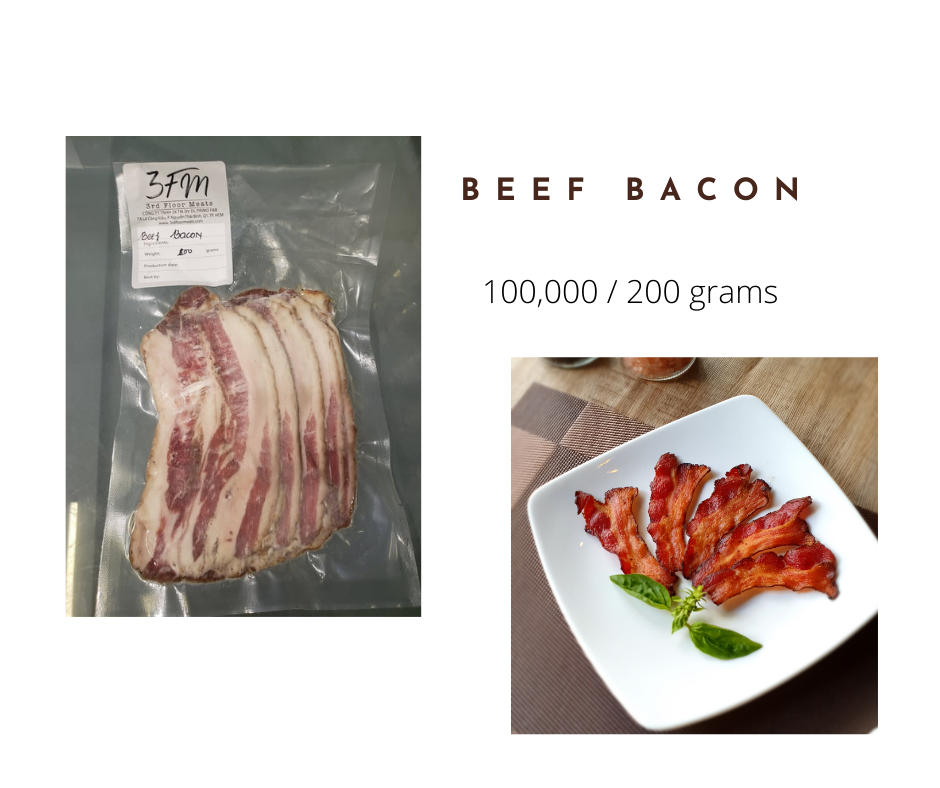 beef bacon 200