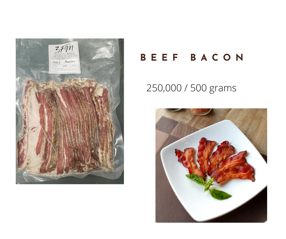 beef bacon 500