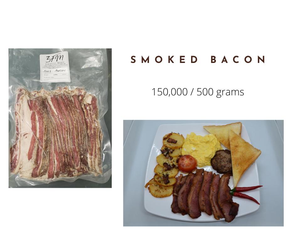 smoked bacon
