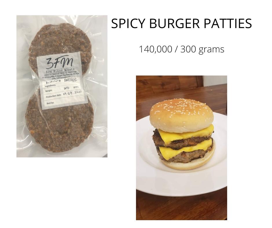 spicy burgers